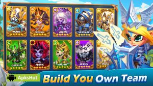 Taptap Heroes Mod Apk [Unlimited Coins] 2021 1